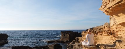 meditation at the sea_meditación frente el mar
